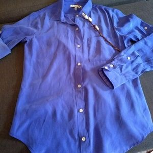 Madewell 'Broadway & Broome' silk blouse